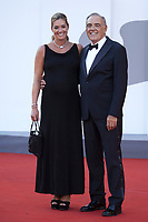 Alberto Barbera and Giulia Rosmarini attending the Closing Ceremony Red Carpet as part of the 78th Venice International Film Festival in Venice, Italy on September 11, 2021. <br /> CAP/MPI/IS/PAC<br /> ©PAP/IS/MPI/Capital Pictures