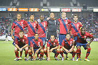 Carson, Ca-Friday Sept. 2, 2011: USA's starting 11 before a 1-0 loss to Costa Rica at the Home Depot Center.