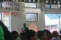 Easter Sunday services at Nairobi's Winner's Chapel, a fast growing evangelical Christian Church, founded in Nigeria.