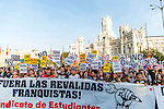Manifestation against the education reform in Madrid, Spain. October 26, 2016. (ALTERPHOTOS/Rodrigo Jimenez)