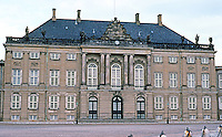 Copenhagen: Amalienborg Palace. Frederick VIII's Palace. Restoration began in 2000 for Crown Prince Frederik and the Crown Princess Mary.