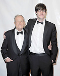 Hugh Hefner and Cooper Hefner at The 2012 MusiCares Person of the Year Dinner honoring Paul McCartney at the Los Angeles Convention Center, West Hall in Los Angeles, California on February 10,2011                                                                               © 2012 DVS / Hollywood Press Agency