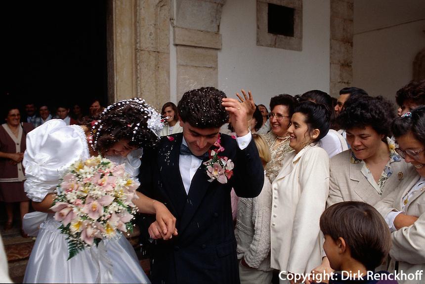 Portugal, Hochzeit in Sitio bei Nazaré