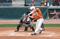 NCAA Baseball featuring the Texas Longhorns against the Missouri Tigers. Etier, Jordan 4989a  at the 2010 Astros College Classic in Houston's Minute Maid Park on Sunday, March 7th, 2010. Photo by Andrew Woolley