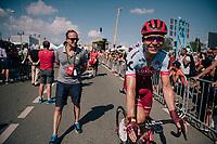 Tony Martin (DEU/Katusha-Alpecin) post-race<br /> <br /> Stage 2: Mouilleron-Saint-Germain > La Roche-sur-Yon (183km)<br /> <br /> Le Grand Départ 2018<br /> 105th Tour de France 2018<br /> ©kramon