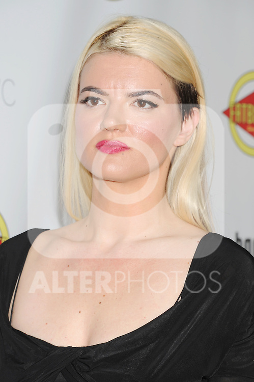 HOLLYWOOD, CA - AUGUST 23: Leslye Headland arrives at the Los Angeles premiere of 'Bachelorette' at the Arclight Hollywood on August 23, 2012 in Hollywood, California. /NortePhoto.com.... **CREDITO*OBLIGATORIO** *No*Venta*A*Terceros*..*No*Sale*So*third* ***No*Se*Permite*Hacer Archivo***No*Sale*So*third*
