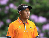 Thongchai JAIDEE (THA) during round 3 of the 2015 BMW PGA Championship over the West Course at Wentworth, Virgina Water, London. 23/05/2015<br /> Picture Fran Caffrey, www.golffile.ie: