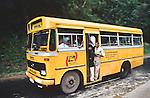 Public bus in Sri Lanka