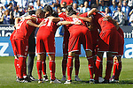 Sevilla FC's players during La Liga match. October 15,2016. (ALTERPHOTOS/Acero)