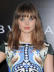 Bella Heathcote at The Rodeo Drive Walk of Style event honoring BULGARI held on Rodeo Dr. in Beverly Hills, California on December 05,2012                                                                               © 2012 DVS / Hollywood Press Agency