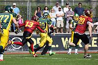 Kick-Off Return Nauheim Wildboys - 08.04.2017: Rüsselsheim Crusaders vs. Nauheim Wildboys, Stadion am Sommerdamm