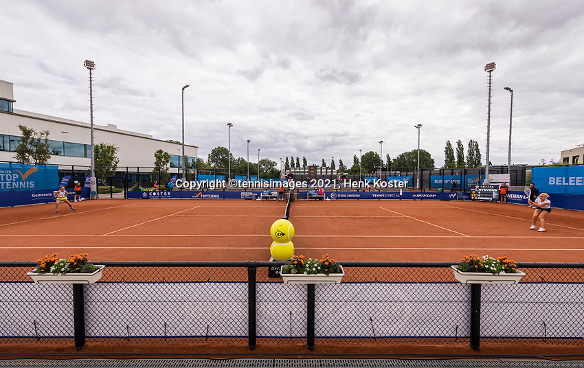 Amstelveen, Netherlands, 6 Juli, 2021, National Tennis Center, NTC, Amstelveen Womans Open,  centercourt<br /> Photo: Henk Koster/tennisimages.com