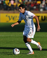 Jonathan Bornstein of USA....Football - International Friendly - USA v Australia - Ruimsig Stadium
