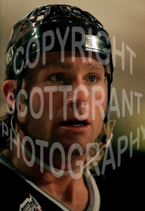 Marty McSorley LA Kings 1993. Photo F. Scott Grant