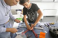 -  FabLab Milano, (fabrication laboratory), nato per iniziativa della Fondazione Mike Bongiorno, collabora con il PhycoLab dell'Università Politecnico. Workshop per la costruzione di un drone<br /> <br /> - Milan FabLab (fabrication laboratory), founded on the initiative of the Foundation Mike Bongiorno cooperates with the PhycoLab of Polytechnic University. Workshop for the construction of a drone