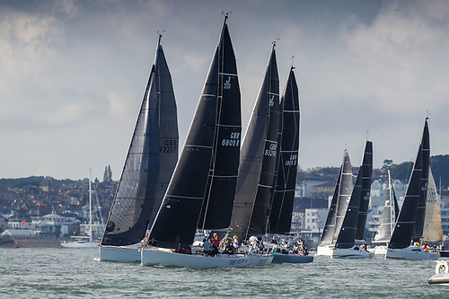 The Start of the 2021 RORC De Guingand Bowl Race