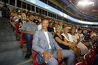 NASHVILLE, TN - SEPTEMBER 5: USMNT player and 2012 National Soccer Hall of Fame inductee Desmond Armstrong is One Nation Game Ambassador at Nissan Stadium on September 5, 2021 in Nashville, Tennessee.