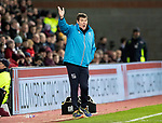 Hearts v St Johnstone…26.01.19…   Tynecastle    SPFL<br />Tommy Wright shouts at his players<br />Picture by Graeme Hart. <br />Copyright Perthshire Picture Agency<br />Tel: 01738 623350  Mobile: 07990 594431
