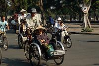 Rikscha in Saigon, Vietnam
