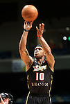 Nick Covington, of the Erie Bayhawks, competes in the 3-point competition in the NBA D-League Showcase at the Reno Events Center, in Reno, Nev., on Wednesday Jan. 9, 2013..Photo by Cathleen Allison
