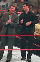 Vince McMahon Shane McMahon 2000                                                                    Photo by  John Barrett/PHOTOlink