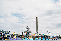 Picture by Russell Ellis/russellis.co.uk/SWpix.com - image archived on 25/04/2019 Cycling Tour de France 2018 - Team Sky at the Tour de France - STAGE 21: HOUILLES - PARIS Champs-Elysées 29/07/2018<br /> -