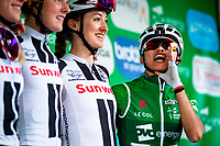 Picture by Alex Whitehead/SWpix.com - 16/06/2018 - Cycling - 2018 OVO Energy Women's Tour - Stage 4, Evesham to Worcester - Coryn Rivera of Sunweb.