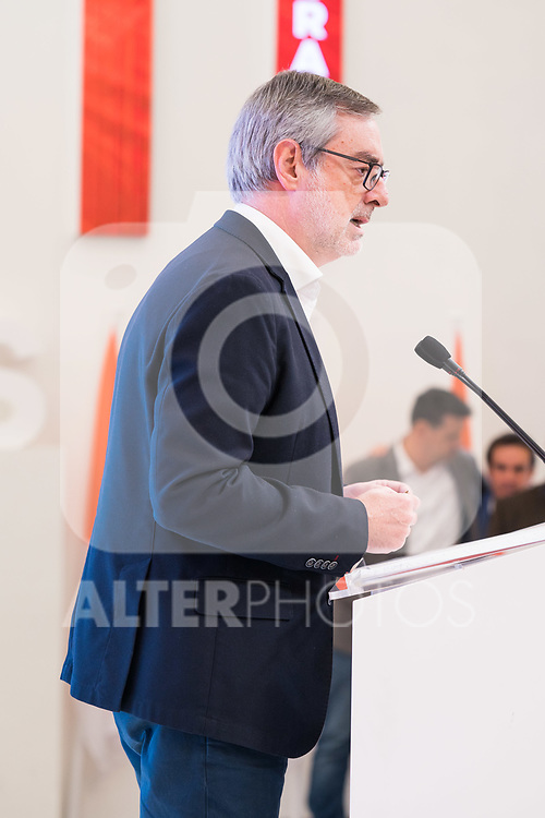 Press conference after the meeting of the permanent committee of Ciudadanos in Madrid. November 18 2019 (Alterphotos/Francis Gonzalez)