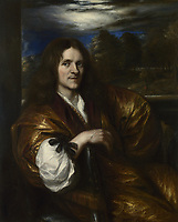 Full title: Self Portrait<br /> Artist: Jan Lievens<br /> Date made: about 1638<br /> Source: http://www.nationalgalleryimages.co.uk/<br /> Contact: picture.library@nationalgallery.co.uk<br /> <br /> Copyright © The National Gallery, London
