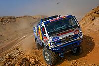 7th January 2021; Riyadh to Buraydah, Saudi Arabia; Dakar Rally, stage 5;  #507 Sotnikov Dmitry (rus), Akhmadeev Ruslan (rus), Akhmatzianov Ilgiz (rus), Kamaz, Kamaz - Master, Camion, Truck, action during the 5th stage of the Dakar 2021 between Riyadh and Al Qaisumah, in Saudi Arabia on January 7, 2021