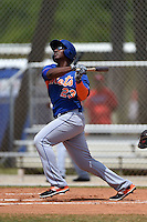 New York Mets Pedro Perez (23) during a minor league spring training game against the St. Louis Cardinals on April 1, 2015 at the Roger Dean Complex in Jupiter, Florida.  (Mike Janes/Four Seam Images)