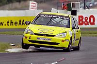 2001 British Touring Car Championship. #98 Mat Jackson. GR Motorsport. Ford Focus.