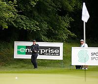 3rd July 2021; Mount Juliet Golf Club, Kilkenny, Ireland; Dubai Duty Free Irish Open Golf, Day Three; Rory Mcilroy of Northern Ireland watches his chip roll onto the 3rd green