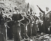 Spanish Civil War (1936-1939). Soldiers of Franco's army.