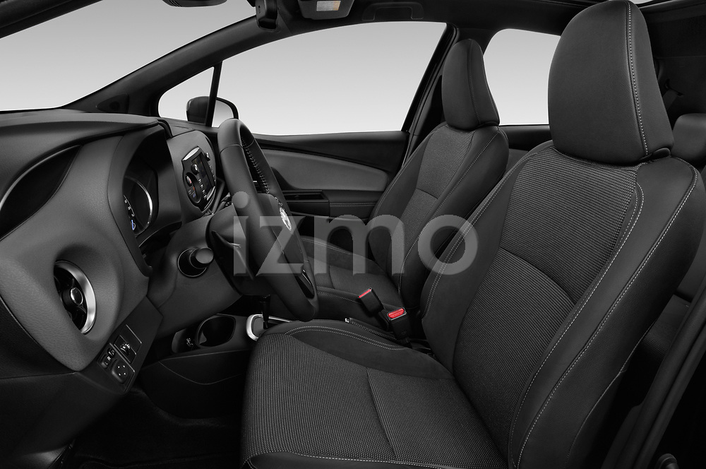 Front seat view of a 2018 Toyota Yaris Lounge 5 Door Hatchback front seat car photos