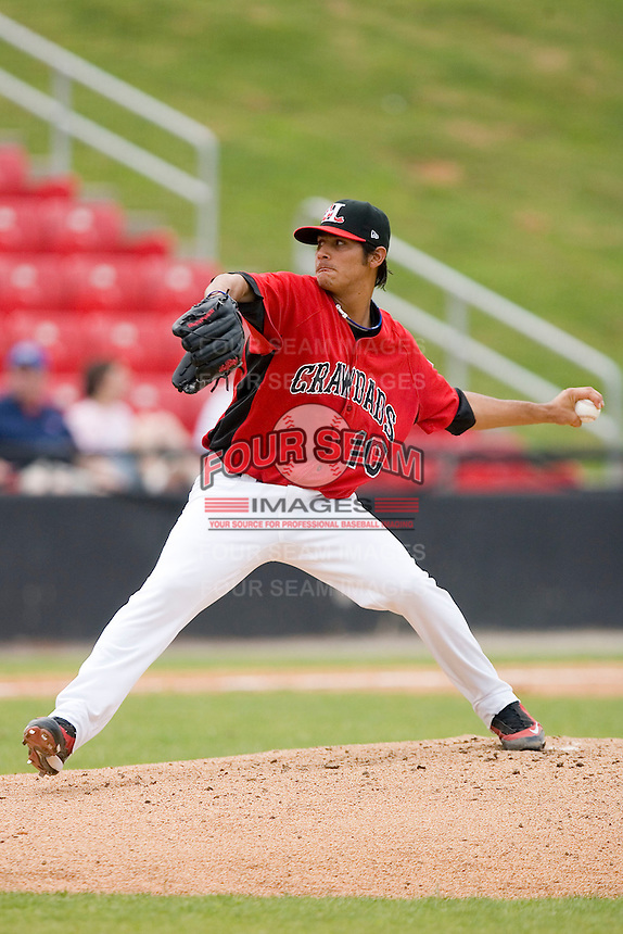 Starting pitcher Martin Perez #10 of the Hickory Crawdads in action versus the West Virginia Power at L.P. Frans Stadium June 21, 2009 in Hickory, North Carolina. (Photo by Brian Westerholt / Four Seam Images)