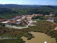 operação krakatoa - maio de 2012 - garimpo ilegal de casseterita - autor: Leonardo Tomaz/Ibama