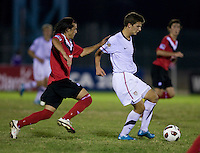 Marc Pelosi, Keven Aleman. The United States defeated Canada, 3-0, during the final game of the CONCACAF Men's Under 17 Championship at Catherine Hall Stadium in Montego Bay, Jamaica.