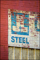 Industrial textures and abstracts - J&L Steel