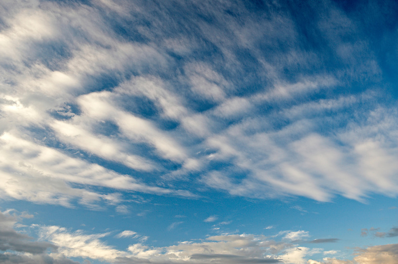 Clouds over Steptoe Butte, Washington