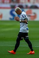 8th November 2020; Beira-Rio Stadium, Porto Alegre, Brazil; Brazilian Serie A, Internacional versus Coritiba; Neilton of Coritiba speaks to himself after a close miss