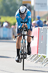 Alejandro Valverde (ESP) Movistar Team during Stage 20 of the 2021 Tour de France, an individual time trial running 30.8km from Libourne to Saint-Emilion, France. 17th July 2021.  <br /> Picture: Colin Flockton | Cyclefile<br /> <br /> All photos usage must carry mandatory copyright credit (© Cyclefile | Colin Flockton)