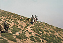Iraq 1983 <br /> Kurdish smugglers on the way to Qalashin    <br /> Irak 1983 <br /> Contrebandiers kurdes sur la route de Qalashin