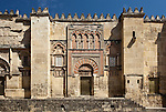 Puerta del Palacio, Mezquita, Cordoba (Stadt), Andalusien, Spanien