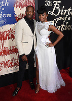 Gabrielle Union + Chike Okonkwo @ the premiere of 'The Birth of a Nation' held @ the Cinerama Dome theatre. September 21, 2016
