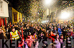 A great atmosphere in Waterville for the New Years Eve Celebrations.