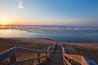 lake Superior, Ice cover, Marquette, Michigan