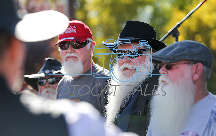 Images from the Nevada Day Beard Competition in Carson City, Nev., on Saturday, Oct. 31, 2015. <br /> Photo by Cathleen Allison