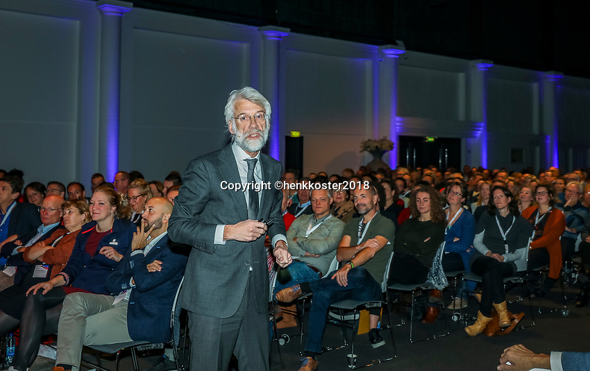 Nieuwegein,  Netherlands, 24 November 2018, KNLTB Year congress KNLTB, Erik Scherder<br /> Photo: Tennisimages.com/Henk Koster