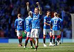 12.05.2019 Rangers v Celtic: Scott Arfield celebrates